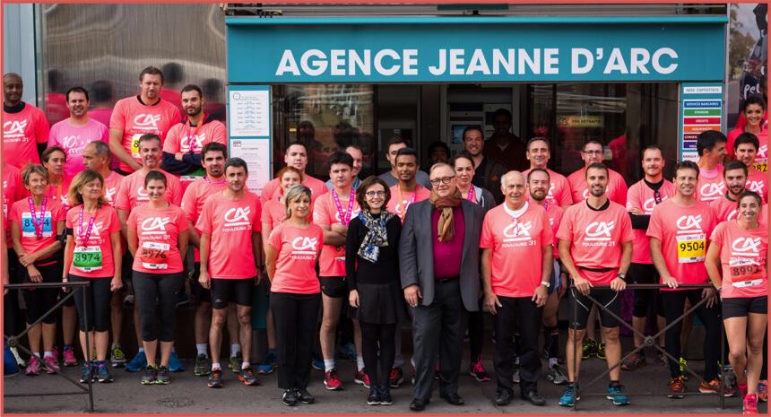 Marathon de Toulouse 1000 € au profit de l'association « A.S.E.I »
