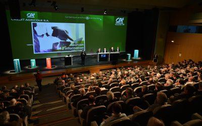 Réunion d'information aux actionnaires : Philippe Brassac à Toulouse le 1er décembre !