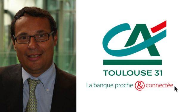 Laurent Cazelles, nouveau Directeur Général Adjoint du Crédit Agricole Toulouse 31