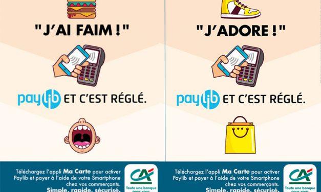 Payer avec PayLib en mobilité, c'est désormais possible au Crédit Agricole