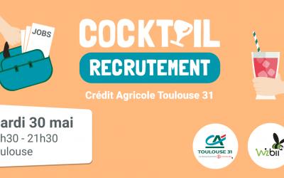 Nouveau cocktail recrutement organisé par CA Toulouse 31 et Wizbii