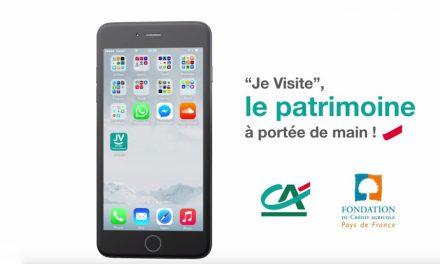 """Avec l'Application """"Je Visite"""", découvrez le patrimoine français !"""