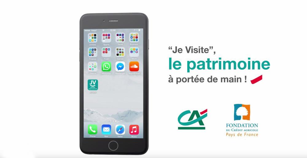 Avec l'Application «Je Visite», découvrez le patrimoine français !