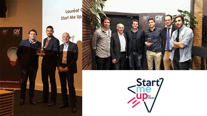 Félicitations aux 2 Lauréats du concours Start Me Up !