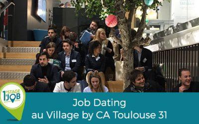 Un premier « job dating » réussi !