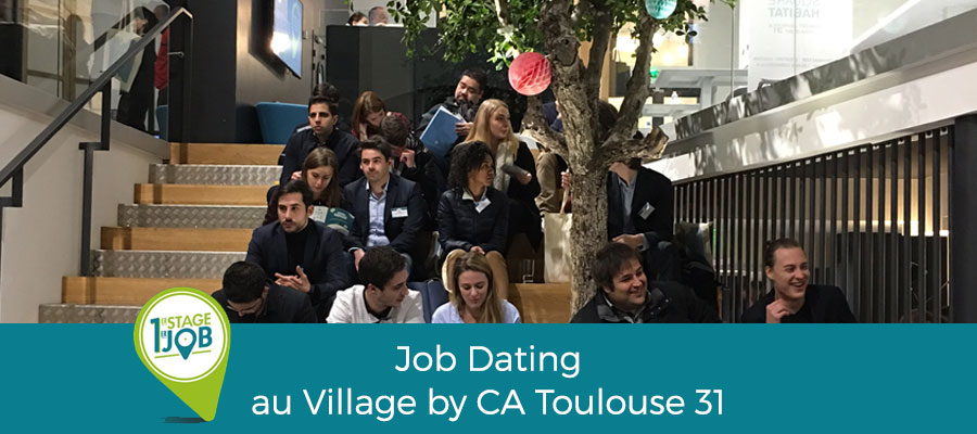 Un premier « job dating » réussi !