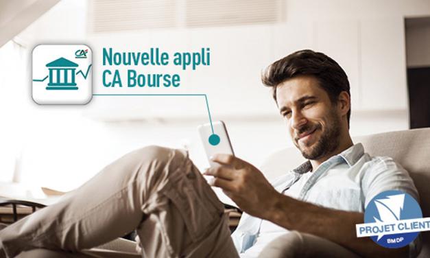 L'appli CA Bourse, déjà un succès seulement 3 mois après son lancement