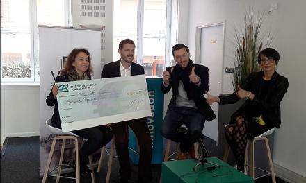 1.000 € versés au profit du Secours Populaire