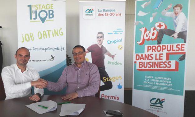 Le Crédit Agricole Toulouse 31 s'engage auprès des jeunes avec Job+