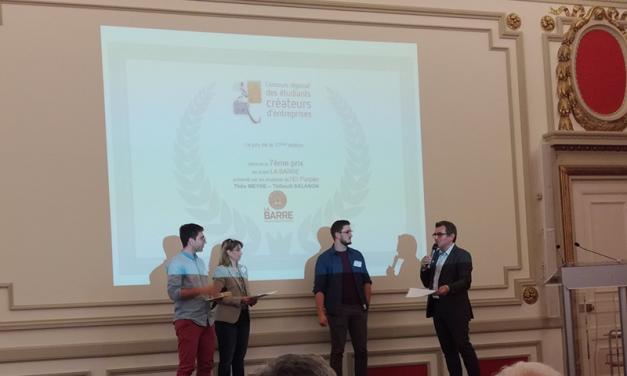 Concours CRECE : les étudiants créateurs d'entreprise à l'honneur