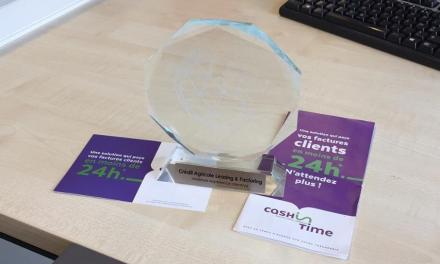 Cash in time : Trophée d'argent de la meilleure expérience client