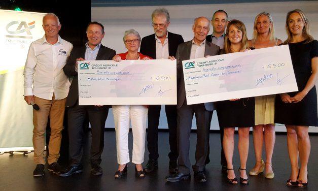 13 000€ versés aux profits des enfants malades suite à la 19ème édition de La Corrida Crédit Agricole Toulouse 31