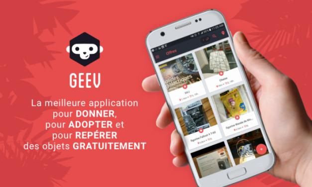 GEEV lauréate de la 1ere édition du concours «Start me up» lève 3 millions d'euros