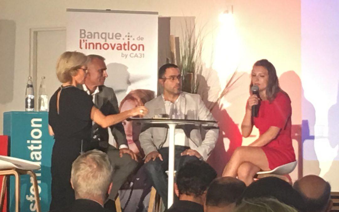 1er anniversaire de la banque de l'innovation by CA31