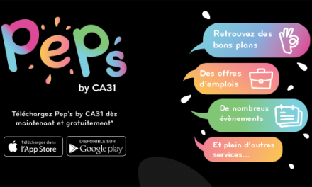 PEP'S BY CA31 : L'APPLICATION MOBILE DES 18-30 ANS