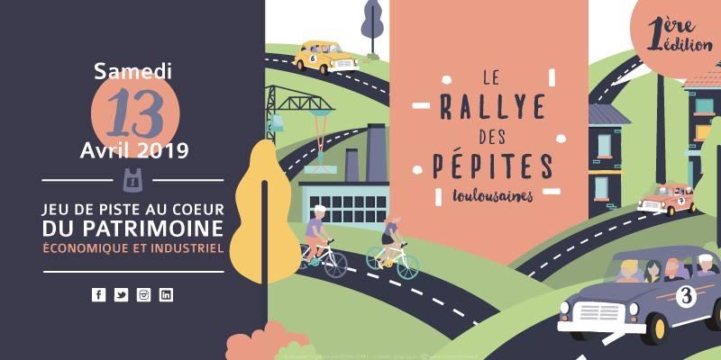 Le Crédit Agricole Toulouse 31 point étape du Rallye des Pépites