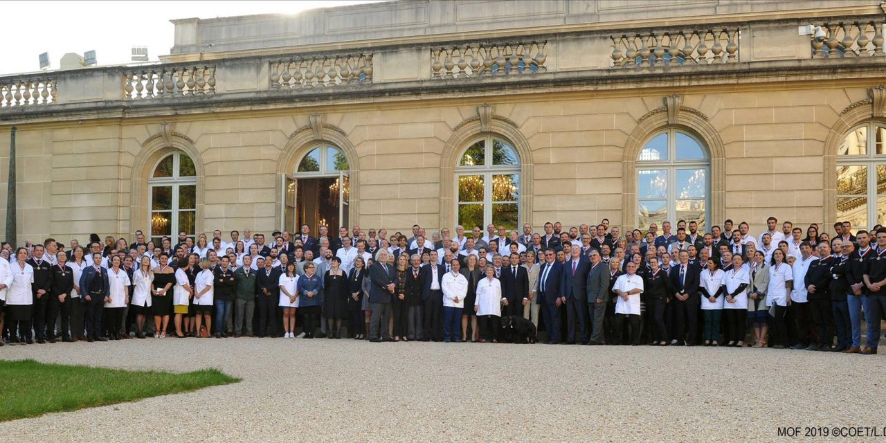 Remise de médailles pour le concours des Meilleurs Ouvriers de France