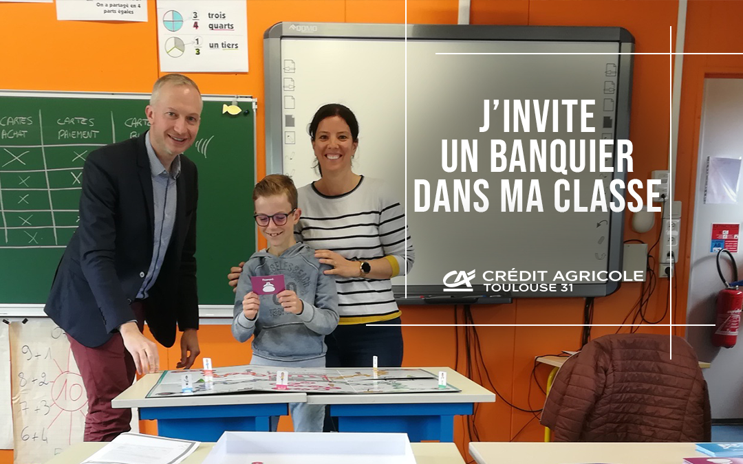 J'invite un banquier dans ma classe : le bilan 2019