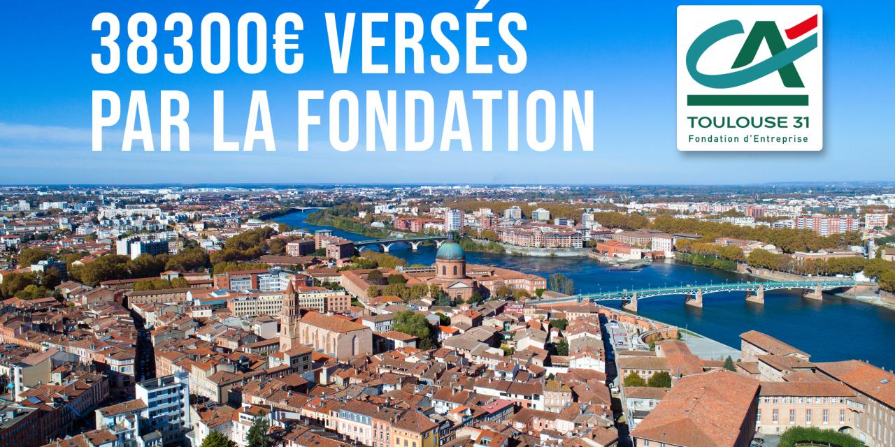38.300 € versés par la Fondation aux acteurs engagés du territoire