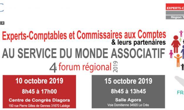 Monde associatif – Le Crédit Agricole Toulouse 31 présent au 4ème Forum des Associations.