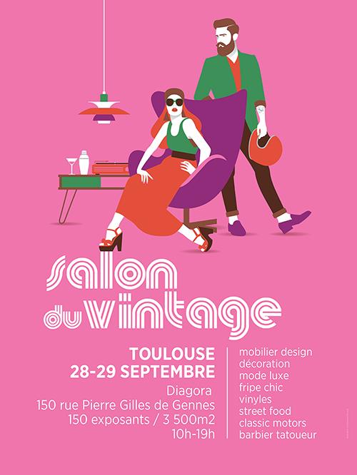 Crédit Agricole Toulouse 31 Partenaire de la 2ème édition du salon du vintage de Toulouse
