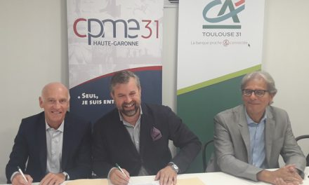Le Crédit Agricole 31 et la CPME 31  signent une convention de partenariat