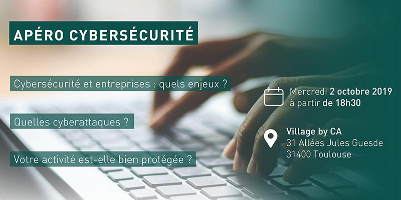 Cybersécurité : un apéritif le 2 octobre pour sensibiliser les professionnels