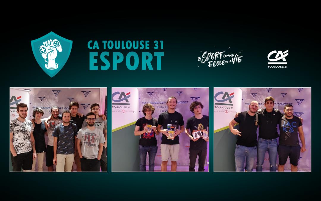 95 joueurs esport participent au 1er tournoi du Crédit Agricole Toulouse 31