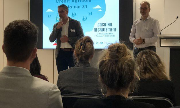 Cocktail recrutement dans le nouveau siège de la Caisse régionale Toulouse 31