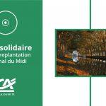 Un CD solidaire pour la replantation du Canal du Midi.