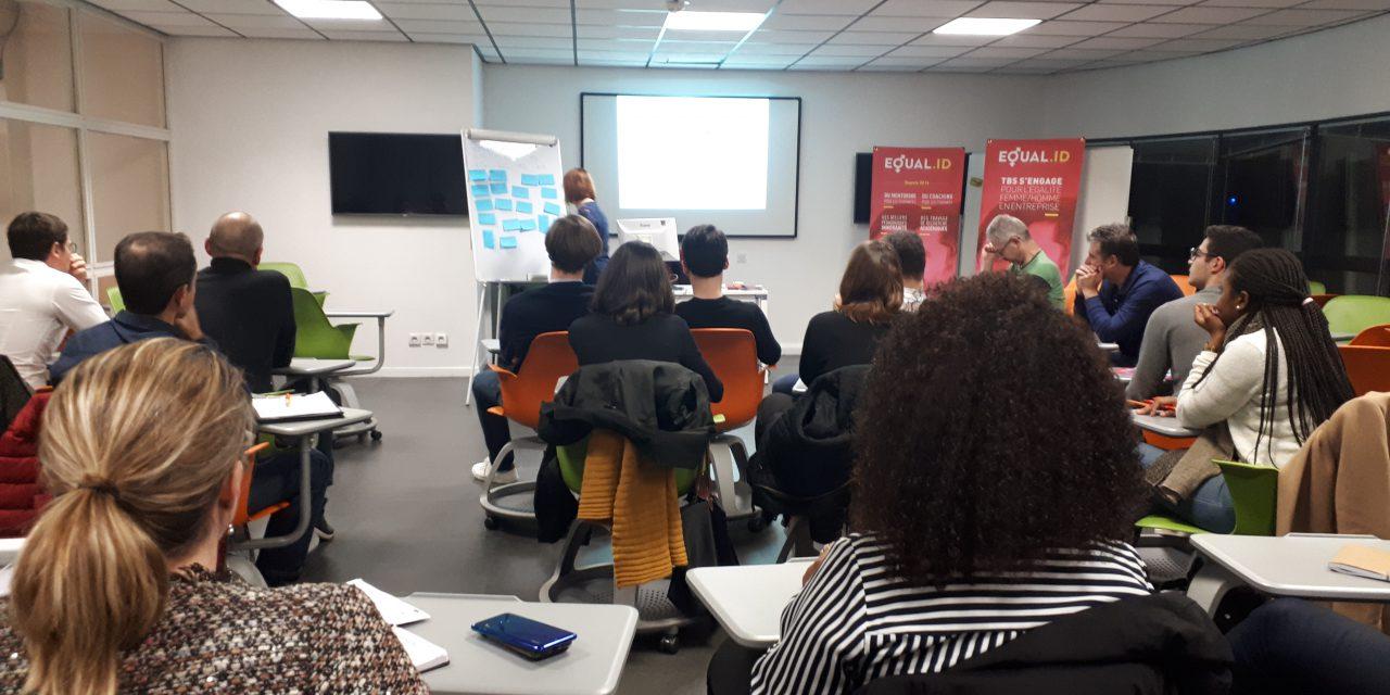 """Atelier """"Egalité professionnelle"""" à Toulouse Business School"""