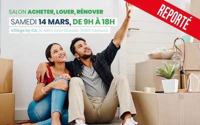 """Salon """"Acheter, Louer, Rénover"""" : une journée pour réaliser son projet immobilier avec le Crédit Agricole et ses partenaires"""