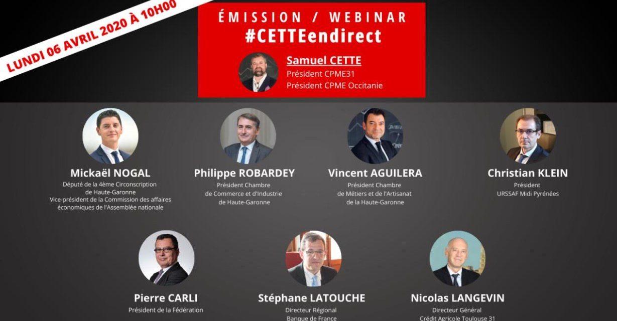 PGE : retrouvez les interventions de Nicolas LANGEVIN, Directeur Général du Crédit Agricole Toulouse 31