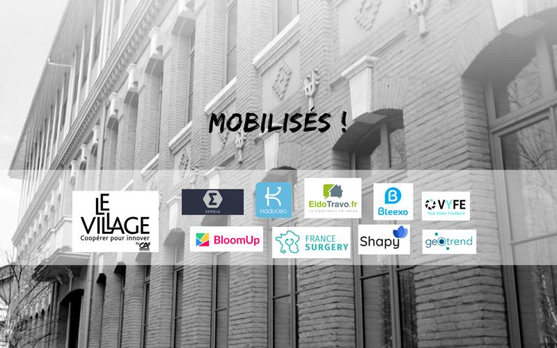 Les startups et alumnis du Village by CA31 se mobilisent pour lutter contre le COVID-19 et ses impacts