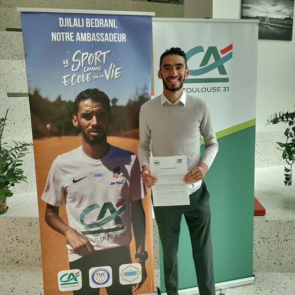 Djilali Bedrani renouvelle son engagement aux côtés du CA Toulouse 31