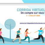 Tous mobilisés pour la Corrida Virtuelle 2020