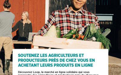Loop, une place de marché en ligne solidaire des producteurs français