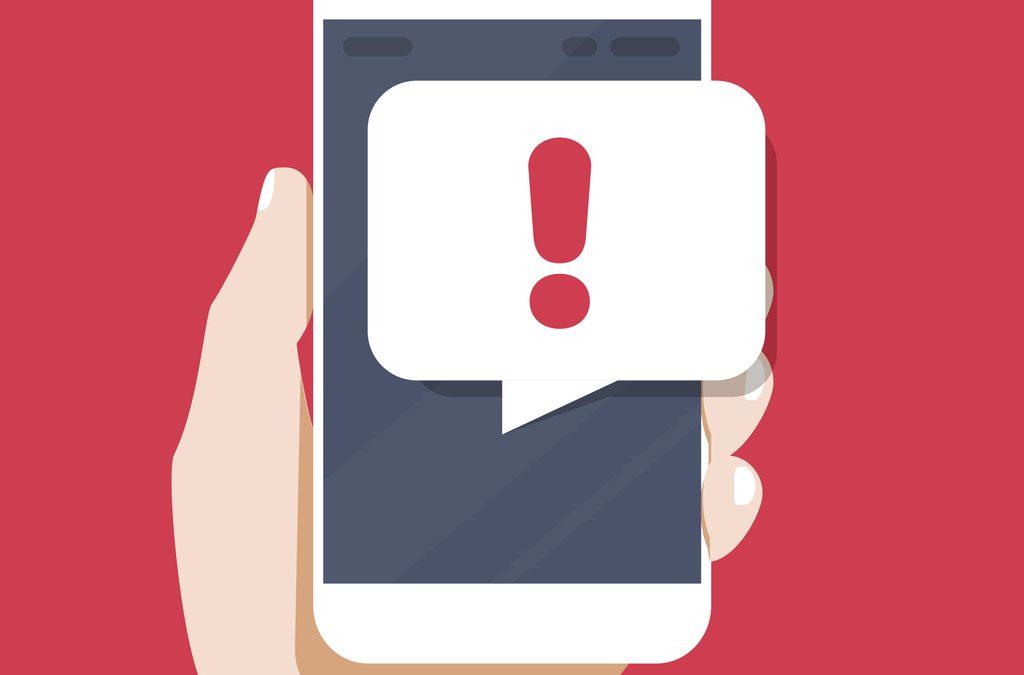 Alertes météo par SMS