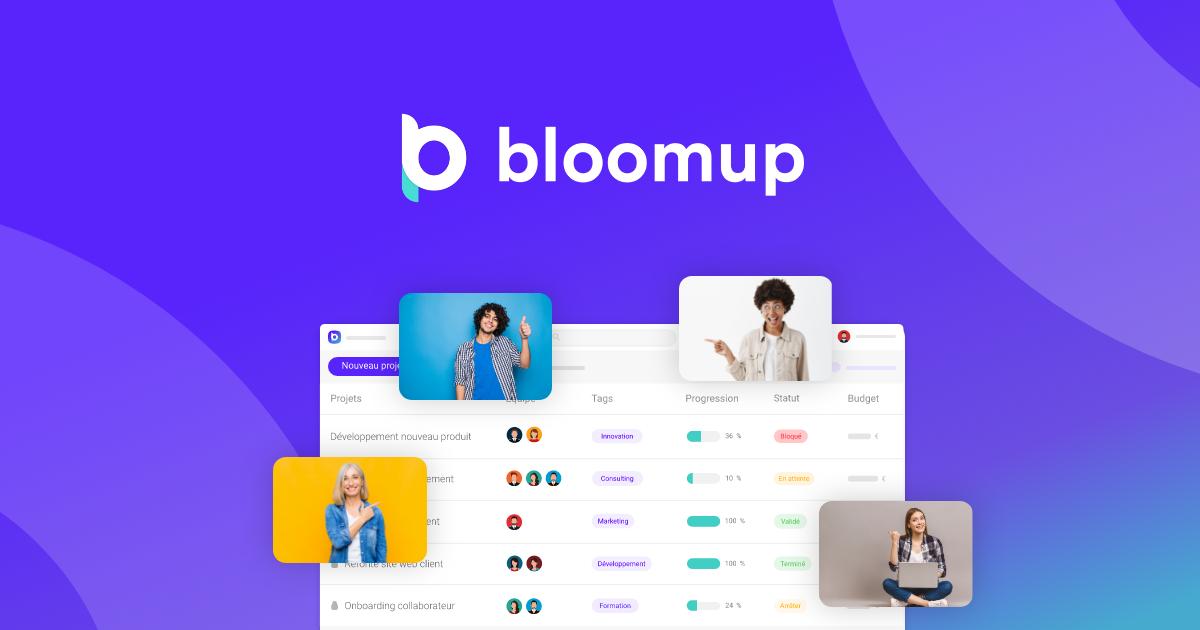 Bloomup, la plateforme qui donne de la visibilité à vos projets