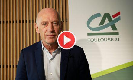 Message de Nicolas Langevin, Directeur Général du Crédit Agricole Toulouse 31