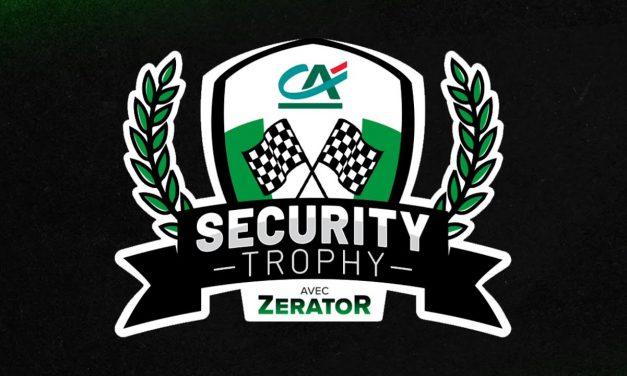 Zerator et le Crédit Agricole organise #SecurityTrophy sur Trackmania.