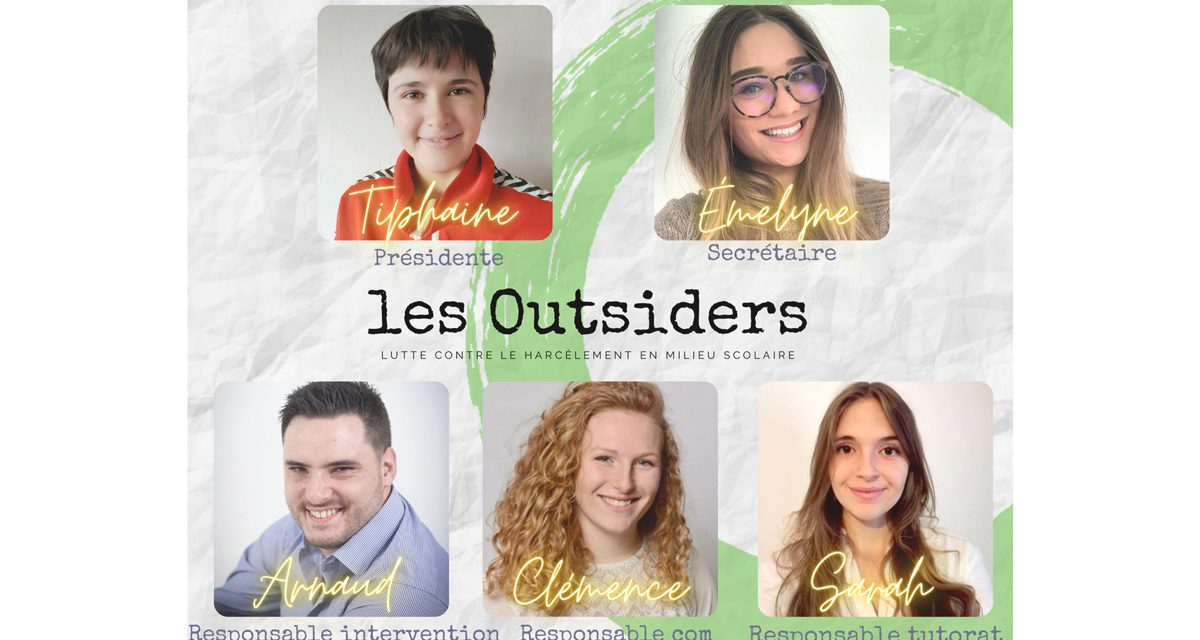 Harcèlement : Les Outsiders s'engagent !