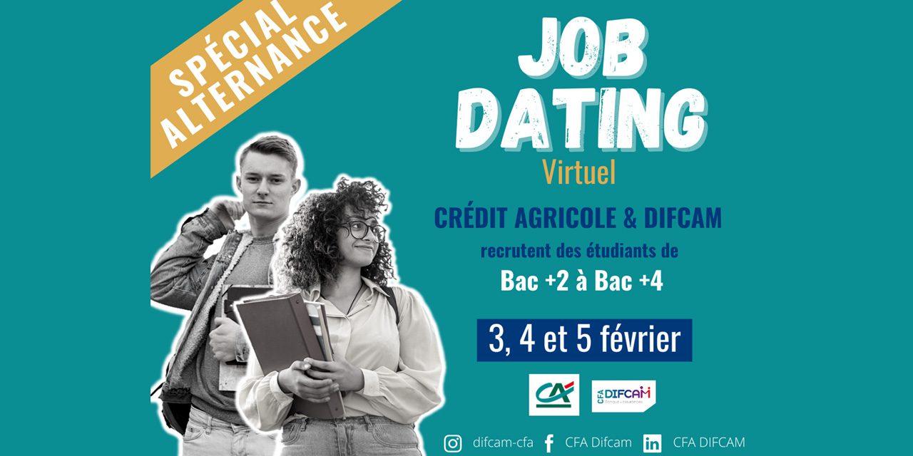 Job Dating Virtuel NATIONAL le 3,4 et 5 février 2021