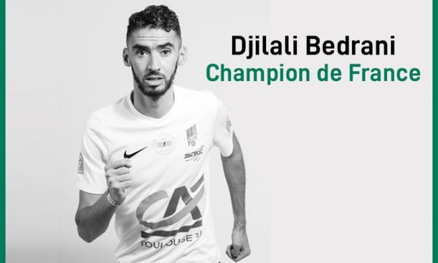 Djilali Bedrani, Champion de France 1500m