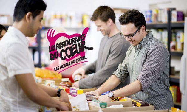 Collecte de produits alimentaires à Carbonne