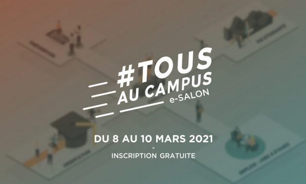Tous au campus – orientation, emploi et sport – 8 au 10 mars 2021