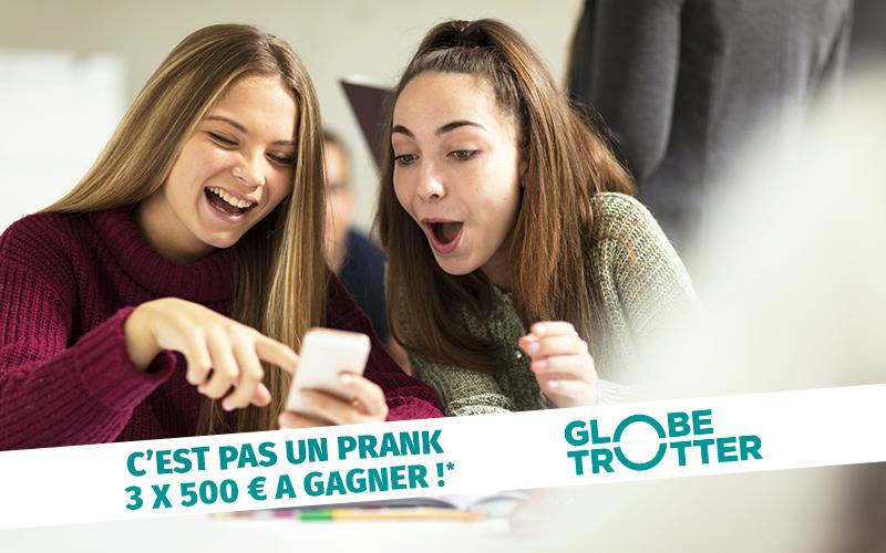 Jeu Globe Trotter : Tentez de gagner 500€