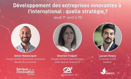 e-Café de l'Innovation : Développement des entreprises innovantes à l'international