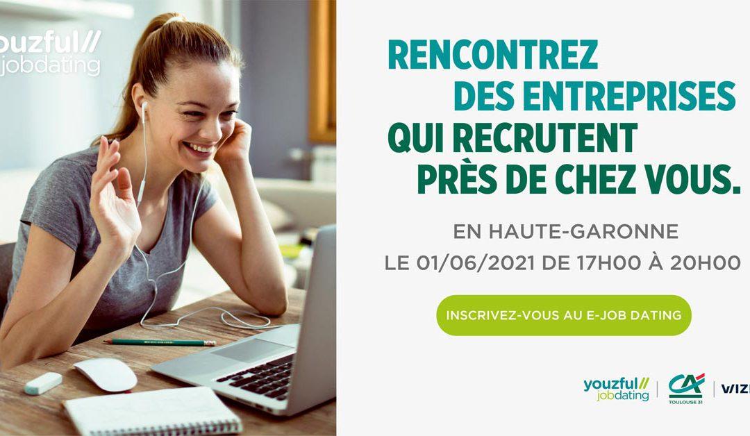 e-Job Dating:12 entreprises locale recrutent des jeunes