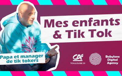 Pourquoi mes enfants adorent Tik Tok ? Thierry, papa & manager de Tik Tokers répond